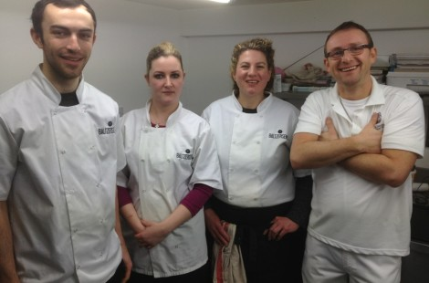 Baltzersen's chef team and Wayne Caddy poised for baking action