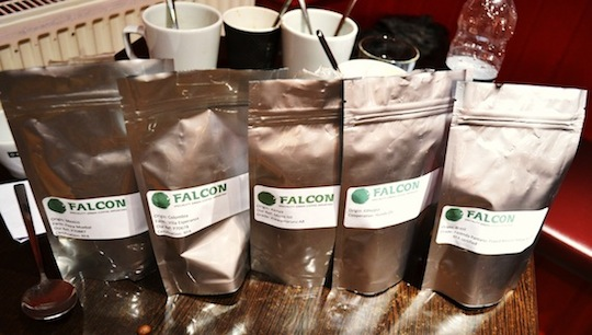5 types of coffee from across the world packed in bags