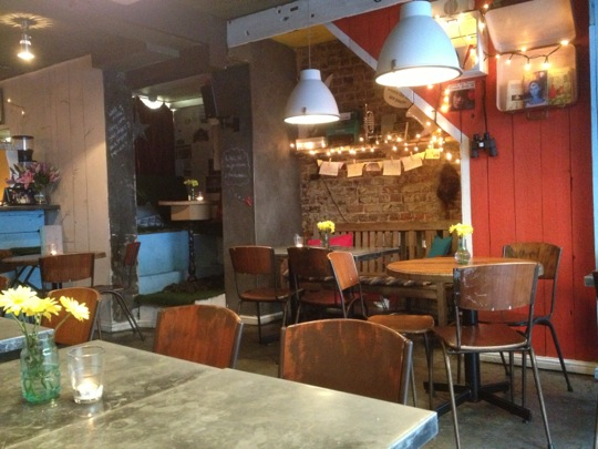 Fika interior, Brick Lane