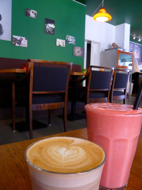Coffee and smoothies at Rocco's kaffebar in Copenhagen