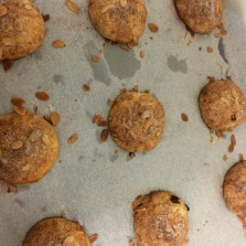 The finished products, Mutter B's coffee Biscuits