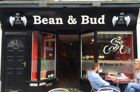Photo of bean and bud for Baltzersen's Locals' Guide to Harrogate: Commercial street
