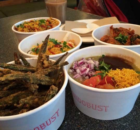 Dishes at Bundobust a great new example of independent food in Leeds