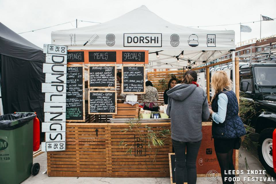 Pop-up pros Dorshi. East Asian flavours meets Dorset ingredients.