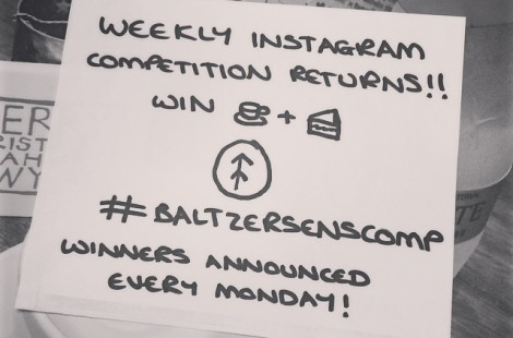 Instagram Competition Returns at Baltzersens in Harrogate