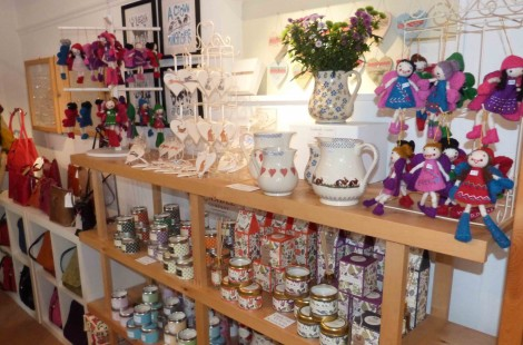 Independent gift shop in Harrogate, Shine, stocks a wide range of items.