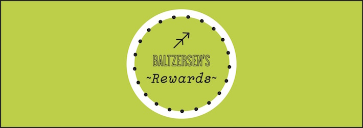 Baltzersen's Rewards logo