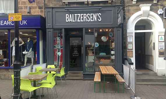 Photo of Scandinavian cafe Baltzersen's in Harrogate