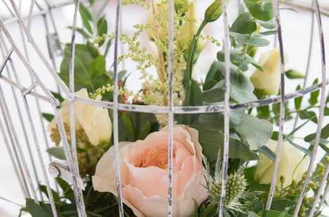 Wedding flowers in Harrogate by Helen James