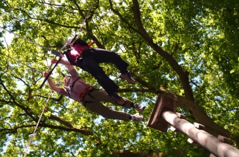 High ropes activity adventures near Harrogate with Live For Today
