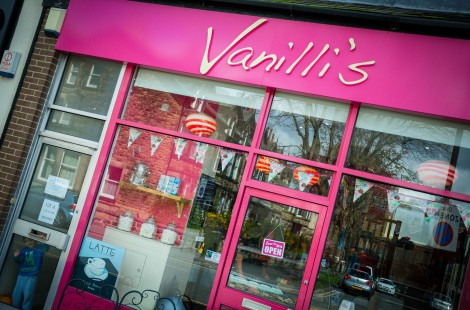Family activities in Harrogate include ice cream at Vanilli's