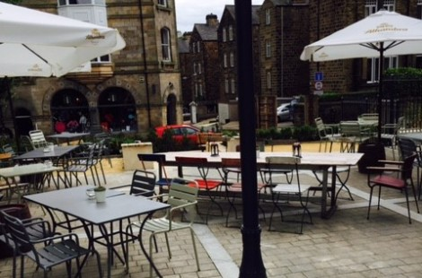 al fresco dining in Harrogate