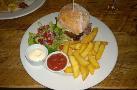 best burger in Harrogate