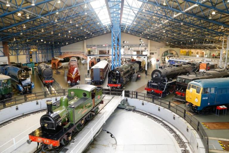 If you are running out of free things to do in Harrgate, consider a trip to York where the National Railway Museum is a great day out!