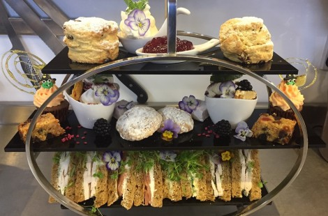 Afternoon tea for Mother's Day in Harrogate
