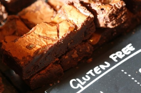 Get gluten free food in Harrogate including gluten free brownies at Fodder