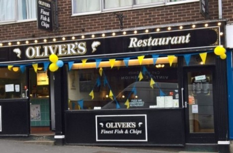 Oliver's Fish and Chip Restaurant is among the best places to find gluten free food in Harrogate