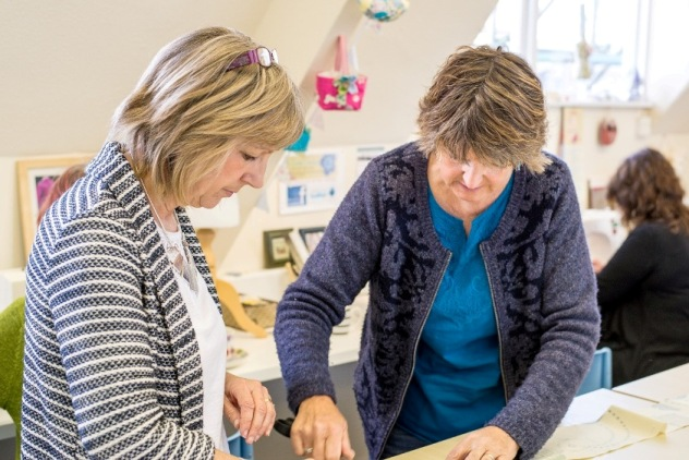As well as offering adult education in Harrogate, The Sewing Sanctuary is a great place to socialise.